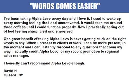 alpha levo iq testimonials